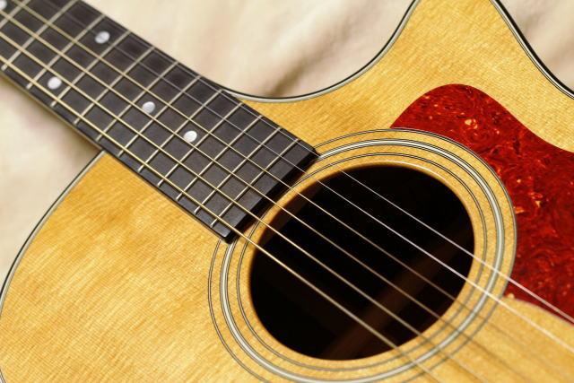ギターで作曲した場合