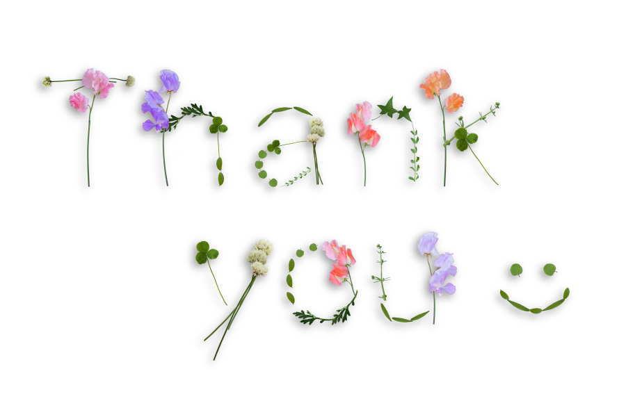 心からの感謝の思いを、改めて綴ります。