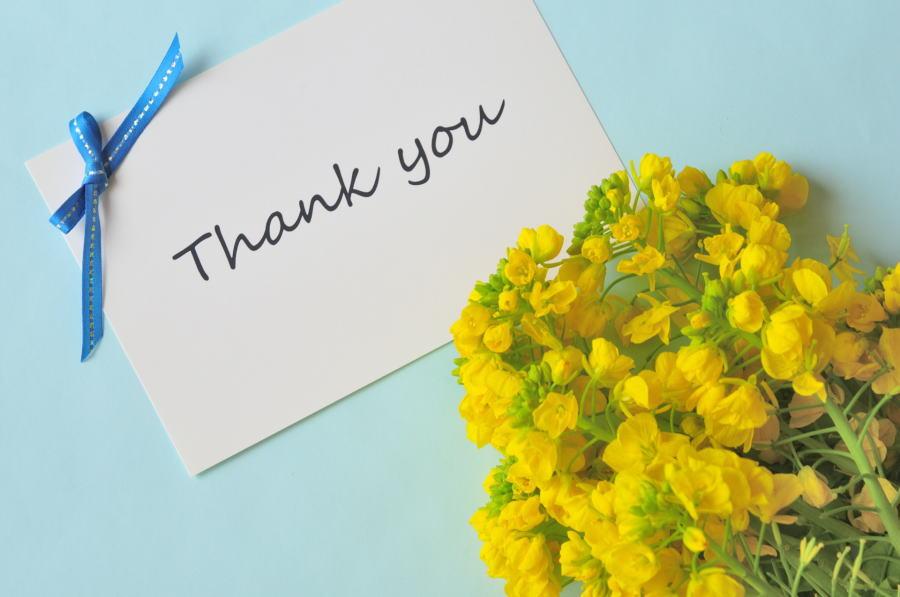 感謝の思い